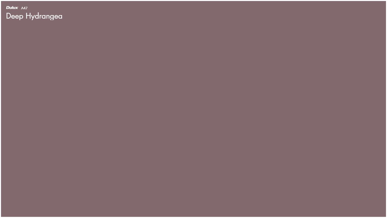 Dulux Deep Hydrangea